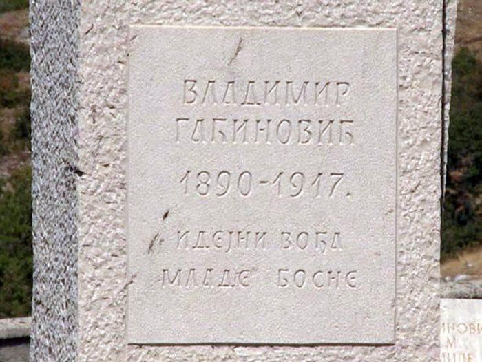 vladimir gacinovic mlada bosna