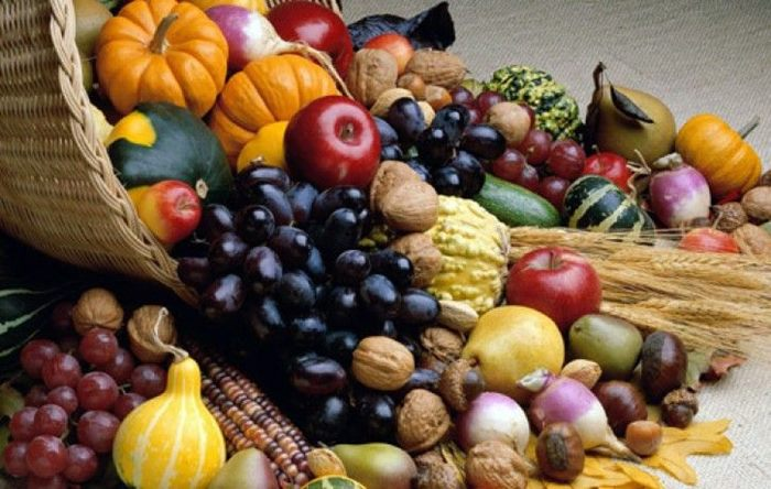 voce i povrce za jesen