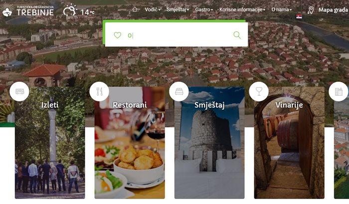 turisticka organizacija trebinja web sajt