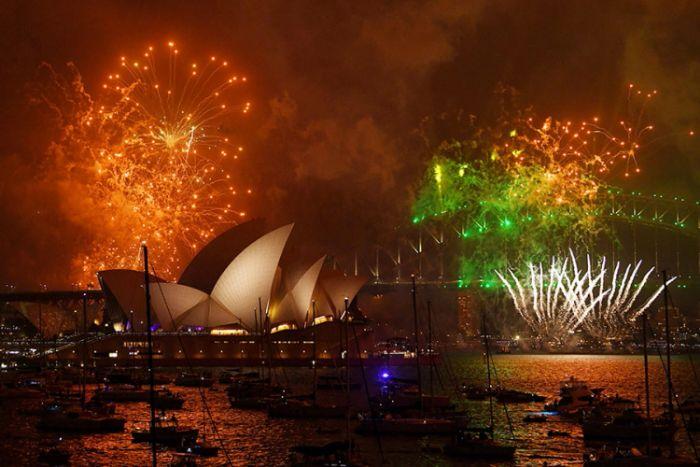 Vatromet nova godina australija