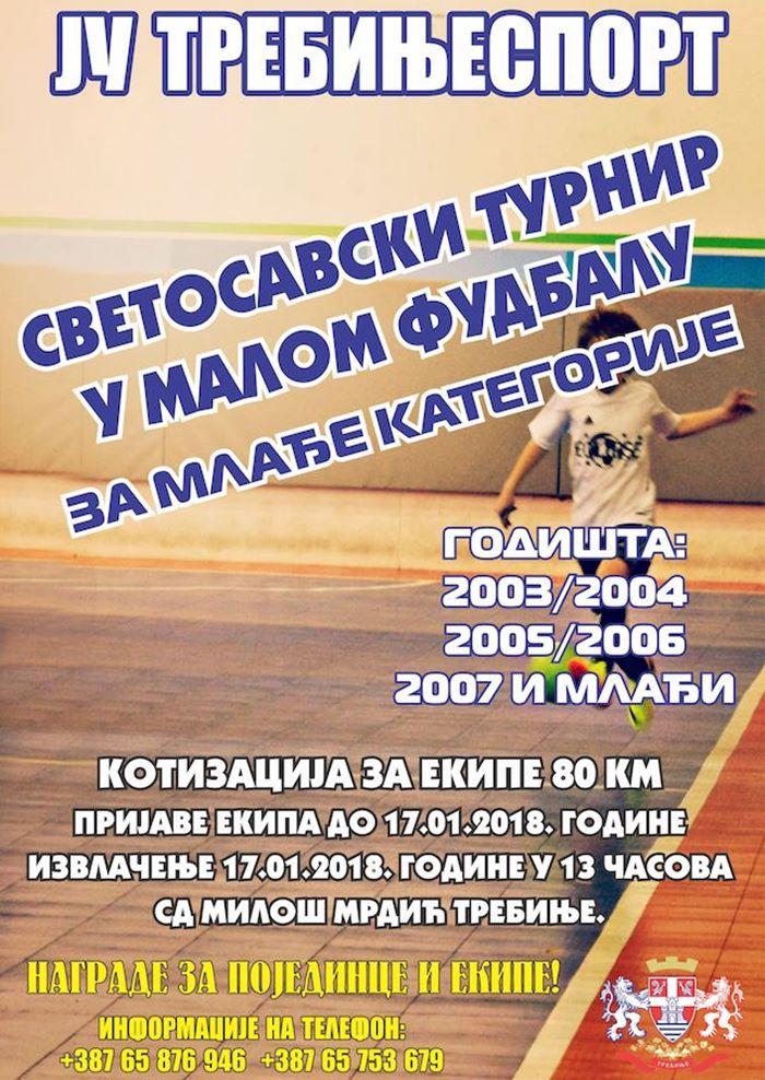svetosavski turnir mali fudbal trebinje 2018