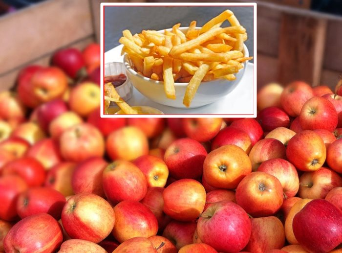 jabuke pomfrit