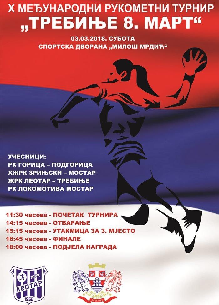 plakat turnir 8. mart