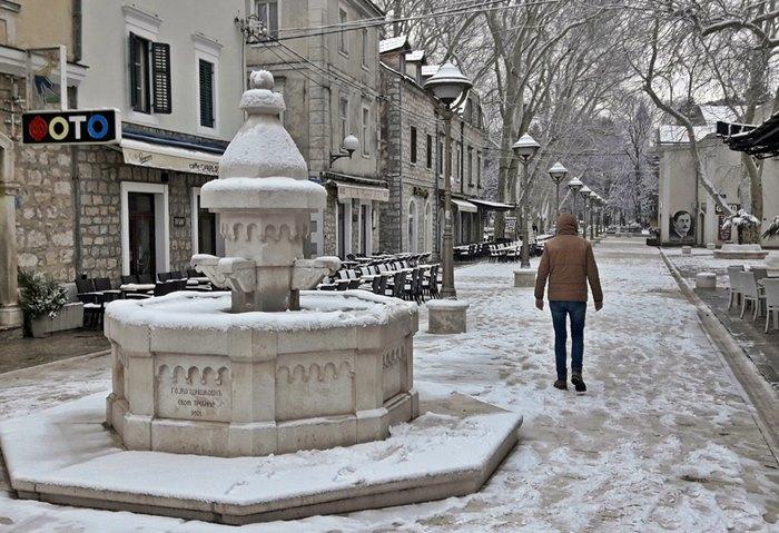 trebinje snijeg