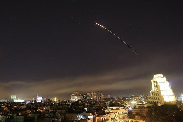 vazdusni napad sirija